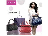 Lavie Bags Minimum 60% off + 20% Cashback on Rs. 750 from Rs. 408 @ Amazon
