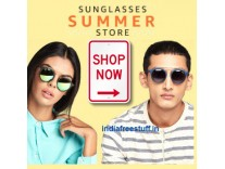 Top Brands Sunglasses Minimum 50% off + 20% Cashback on Rs. 750 from Rs. 139 @ Amazon