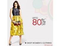 Women's Clothing Minimum 80% off from Rs. 110 @ Amazon