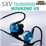 Rovking V5 In Ear Sport Headphones Rs. 599 - Amazon