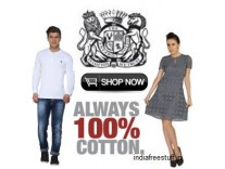 The Cotton Company Clothing 50% to 80% off + 20% Cashback on Rs. 750 from Rs. 298 - Amazon