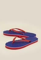 [Tata Cliq] Zudio Blue Thong Flip Flops
