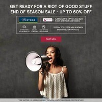 Additional 10% cashback on purchases made through Axis Debit and Credit Cards...