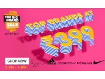 Jabong Top Fashion Brands Rs. 399 or Rs. 799
