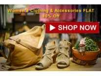 Women's Clothing & Accessories FLAT 80% Off From Rs.219 @Myntra