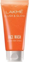 Lakme Blush & Glow Peach Gel Face Wash 50g