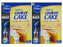 Pillsbury Eggless Cooker Cake Mix 159g Pack of 2 Rs. 124 - Amazon
