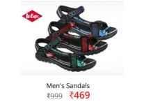 Lee Cooper Men's Casual Sandals Rs. 474 @ Flipkart