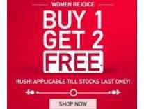 Myntra Buy 1 Get 2 Free offer on Fashion Product