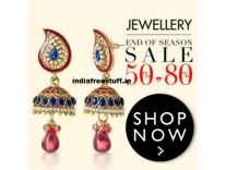 Fashion Jewellery minimum 50% off to 90% off from Rs. 47 @ Amazon