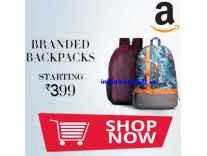 American Tourister & Bags.R.us Backpacks 80% off from Rs. 420 - Myntra