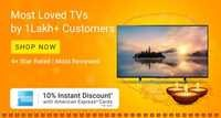 10% Instant Discount with AMEX cards - TV and Appliances