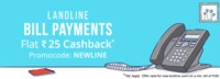 Flat ₹50 Cashback on Asianet broadband bill payment of ₹500 or more At Paytm