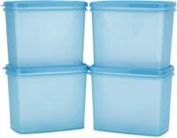 All Time Sleek - 850 ml Plastic Multi-purpose Storage Container (Pack of 4, ...