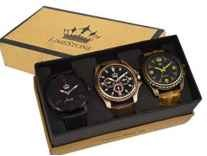 LimeStone Multicolor Dial Men's Watch Pack of 3 Rs. 399 - Amazon