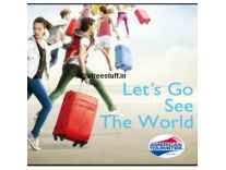 American Tourister Strolley & Suitcase...