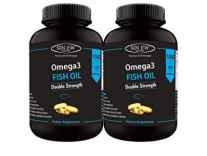 Sinew Nutrition Omega 3 Double Strength Fish Oil 1000mg 60 Softgels Pack of 2 Rs. 999 @ Amazon