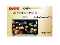 Sanyo LED TV Minimum 28% off from Rs. 13490- Amazon