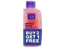 Clean & Clear Morning Energy Facewash 100ml Buy 2 Get 1 Free For All Rs.223 or For Pantry Rs.156 - Amazon