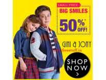 Gini & Jony Kids Clothing Minimum 50% off from Rs. 174- Amazon