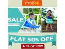 FS Mini Klub Kids Clothing Min 50% off from Rs. 201- Amazon