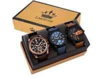 Limestone Analogue Multi-Colour Dial Men's Watch Rs. 499 - Amazon