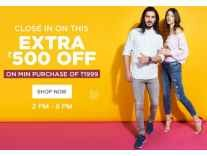 Jabong Sale Minimum 40% off + Rs. 500 off on Rs. 1999 @ Jabong