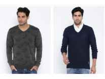 Spykar Sweaters 70% off from Rs. 850 + Free Shipping - Myntra