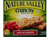 Nature Valley Crunchy, Oats and Berries, 252g at Rs. 210 @ Amazon