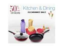 Kitchen & Dining Clearance Sale Min 50% to 80% off @ Flipkart