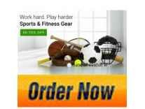 Sports & Fitness Gear Minimum 50% off from Rs. 73- Flipkart