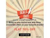 Clothing, Footwear & Accessories Minimum 70% off + 10% Cashback + Free Shipping @ Myntra