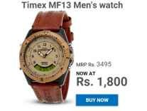 Timex MF13 Men's Watch Rs.1673 - Amazon