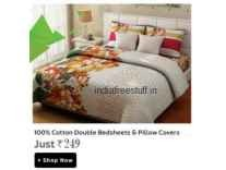 Bedsheets 50% to 80% off from Rs. 149 @ Flipkart