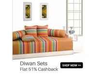 Supreme Home Collective Diwan Sets upto 91% off from Rs. 343- Flipkart