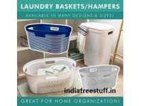 Laundry Baskets from Rs. 125 @ Flipkart