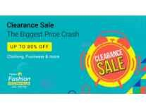 Flipkart Fashion Clearance Bonanza upto 80% off