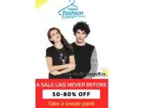 Flipkart Fashion Days Sale upto 90% off + 15% Cashback