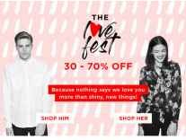 Myntra The Love Fest Sale 50% to 80% Off + 15% off