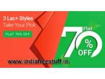 Flipkart Fashion 70% Store