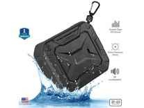 ZAAP AQUA BOOM waterproof/ Shockproof Bluetooth speaker With Built-In Microphone Rs.1979 - Amazon