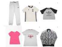 Adidas Kids Clothing Minimum 78% off from Rs. 299 - Flipkart