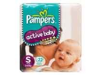 [Pantry] Pampers Active Baby Small Size Diapers 22 count Rs. 207