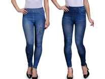 Oleva Women's Jegging Pack of 1 Rs. 249, Pack of 2 Rs. 399 & Pack of 3 Rs. 599 - Amazon