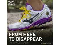 Mizuno Shoes 65% to 77% off + Rs. 75 Cashback - Jabong
