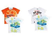 Hot Wheels Boys Pack of 2 Printed T-shirts Rs. 692 - Myntra