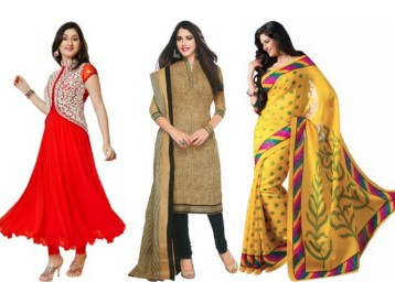 Women's Clothing Minimum 70% off from Rs. 103@ Flipkart