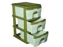 Cello Organiser 3 Drawer Storage Chest...