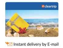 Cleartrip E-Gift Card upto 20% Off + Extra 10% Off with SCB Cards -Snapdeal
