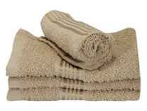 Bianca D`Ross Bordered 4 Piece 380 GSM Cotton Face Towel Set Rs. 124 @ Amazon